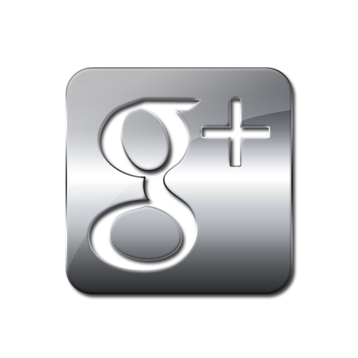 Social Media Logo Silver Google Plus So Mc The Spa