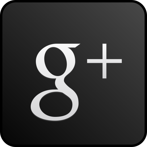 Googleplus Custom Black Icons, Free Icons In Red Google Plus