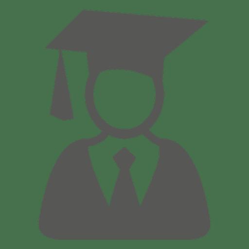 Male Graduate Icon