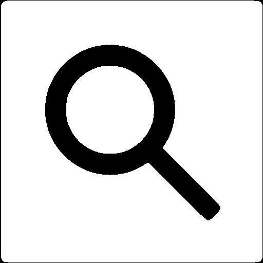 Search Icon White Color