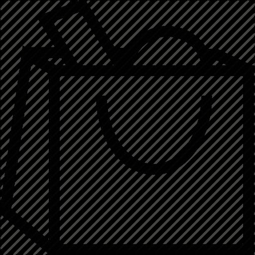 Google Shopping Bag Icon