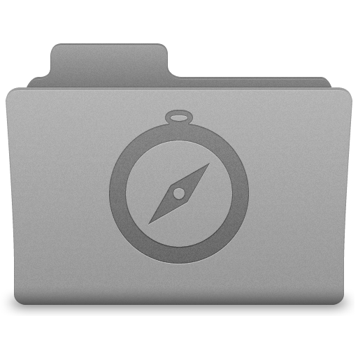 Grey Sites Folder Icon