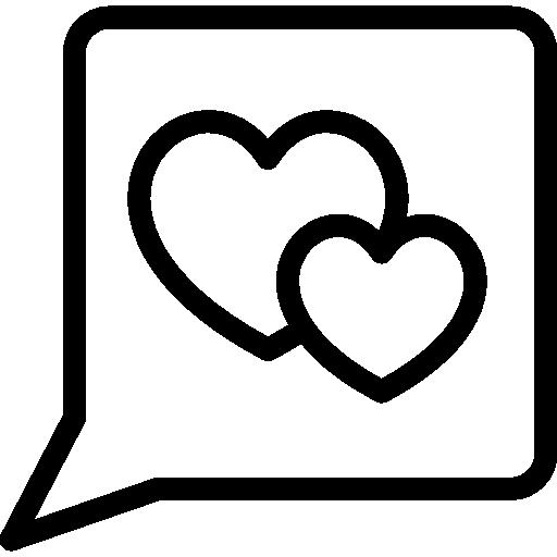 Love Talk Icon Our Wedding Freepik