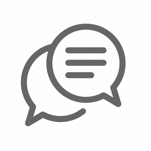 Bubble, Chat, Discussion, Message, Talk Icon