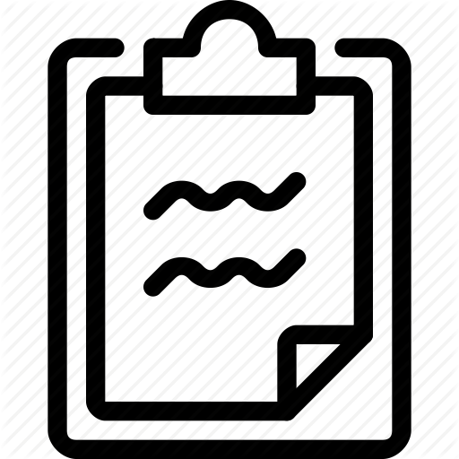 Notes, Tasks Icon