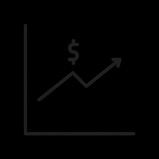 Download Economic Trends Icon Inventicons