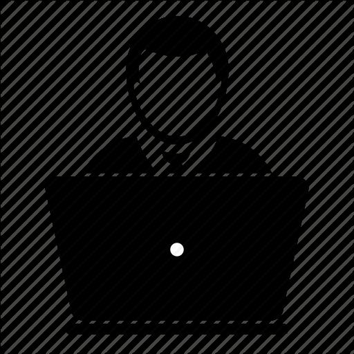 Computer User Icon