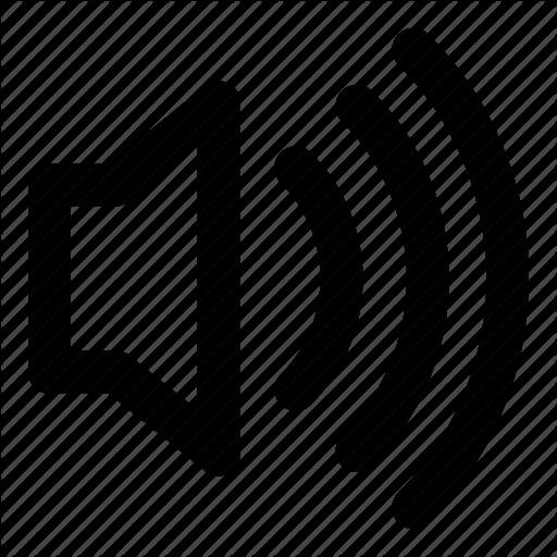 Loud, Speaker, Voice Icon