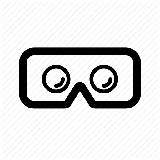 Cardboard, Glasses, Googles, Headset, Reality, Virtual, Vr Icon