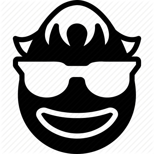Boy, Cool, Emojis, Emotion, Face, Glasses, Smiley Icon
