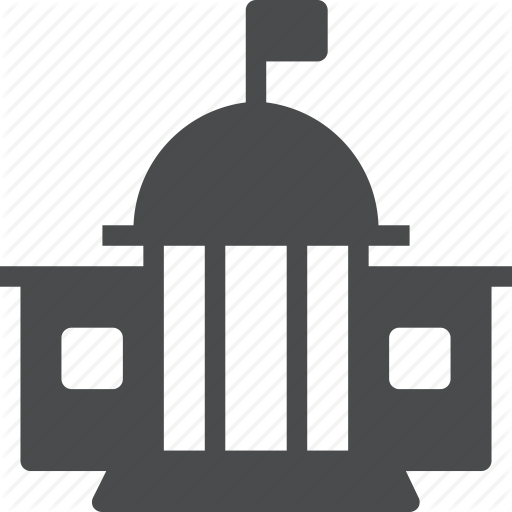 Building, Federal, Government, House, Office, White Icon