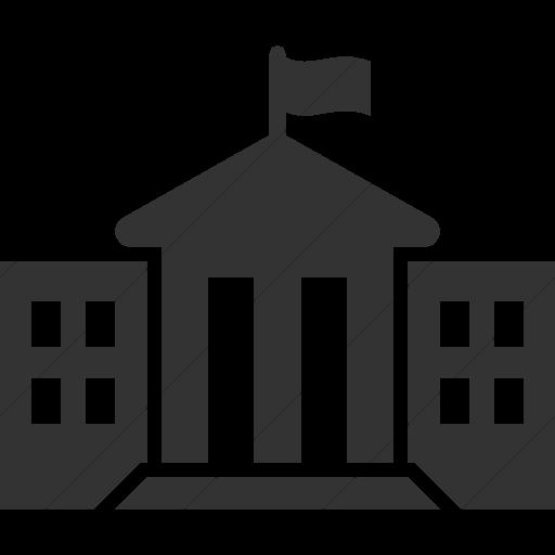 Simple Dark Gray Iconathon State Government Icon