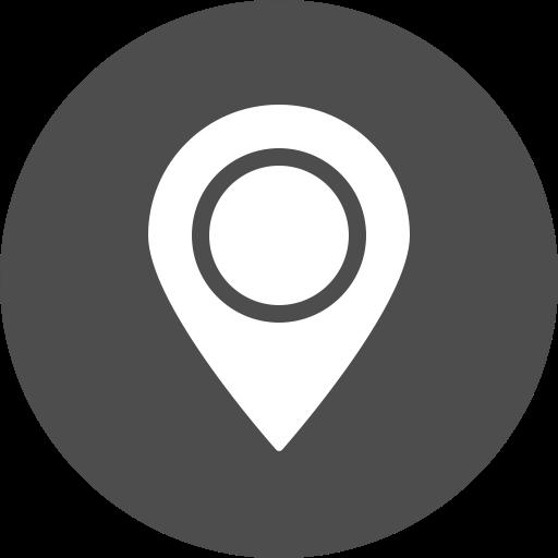 Map, Marker, Navigation, Gps, Location, Address, Cercle Icon