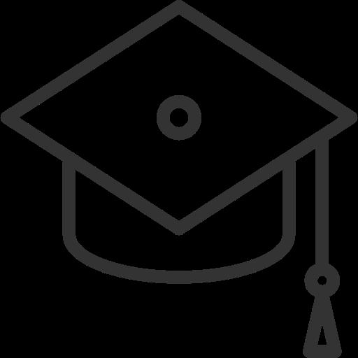 Graduation, Cap Icon Free Of Themeisle Icons