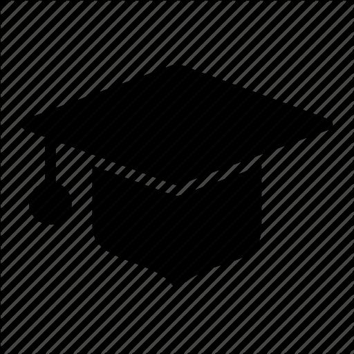 Cap, Education, Graduate, Graduation Cap, Mortarboard Icon