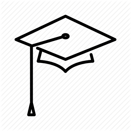 Cap, Graduation, Graduation Cap, School, Square, Square Academic