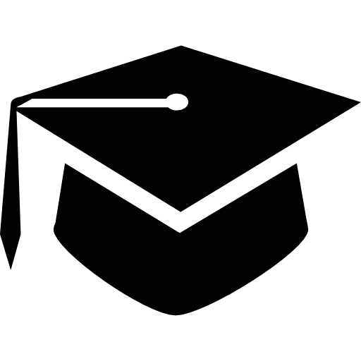High School, Graduation Cap, Social, Mortarboard, Graduation Hat Icon