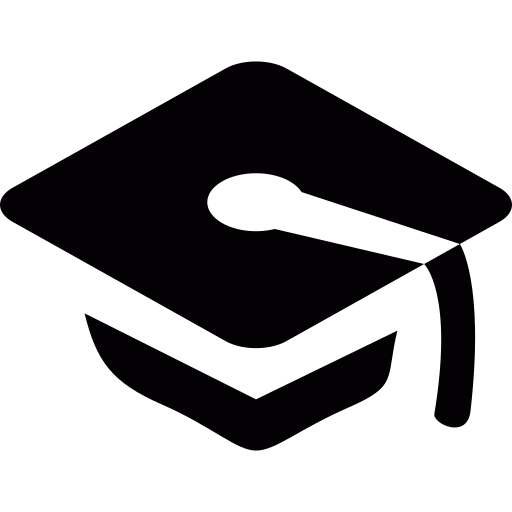 Graduation, Cap Icon Free Of Entypo Icons
