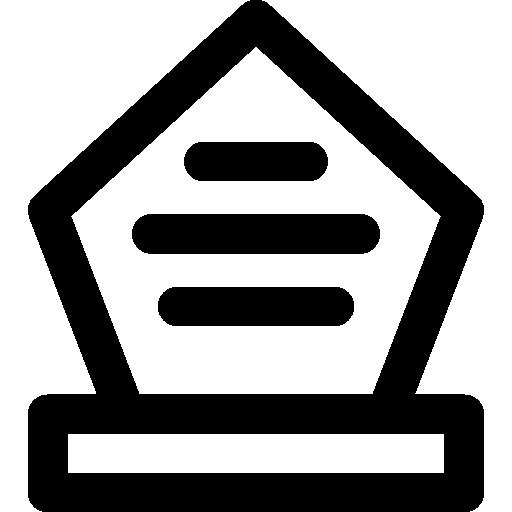 Rounded Awards Icon