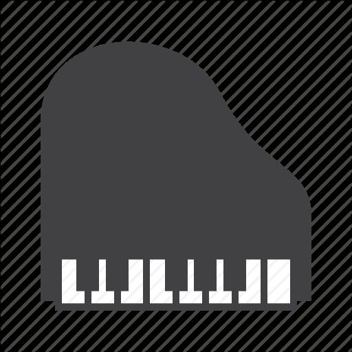 Grand, Keys, Piano Icon