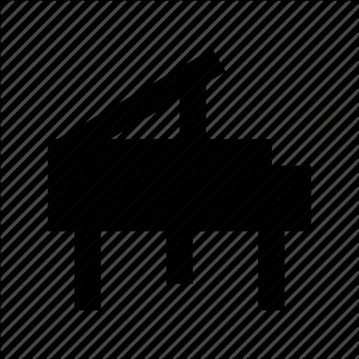 Grand Piano, Music, Music Instruments, Piano, Pianoforte Icon