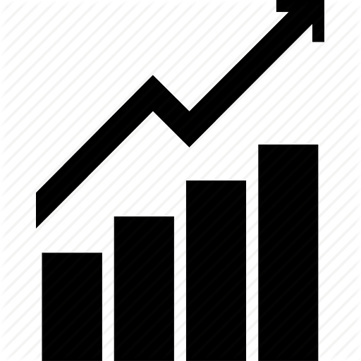 Economics Arrow Graph Up