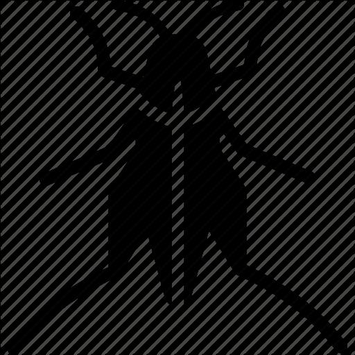 Cricket, Grasshopper, Locust Icon