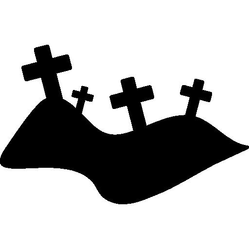 Halloween Graveyard Icons Free Download