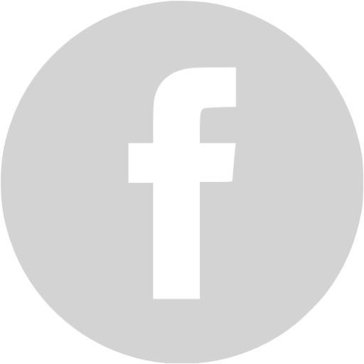 Light Gray Facebook Icon
