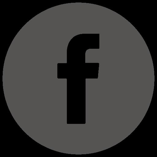 Facebook Icon Grey