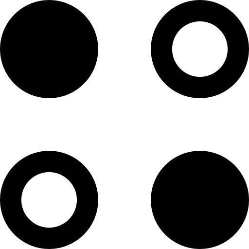 Four Dots Icons Free Download