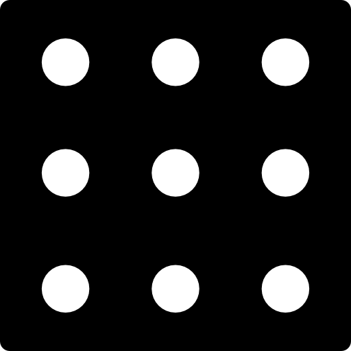 Nine Dots In A Square Icons Free Download