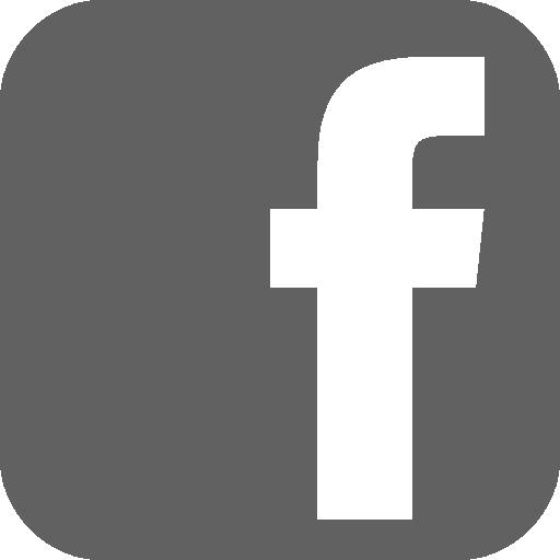 Gray Facebook Logo Png