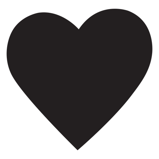 Simple Heart Silhouette