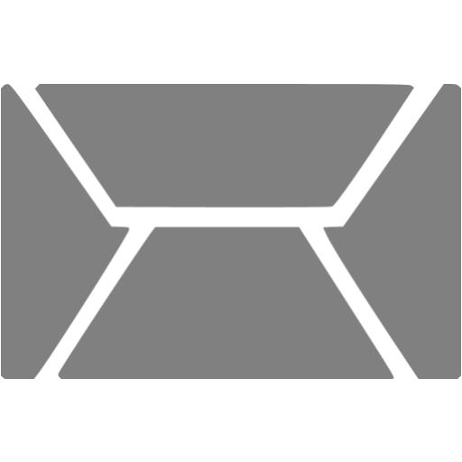 Grey Email Icon