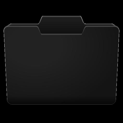 Black Grey Closed Icon