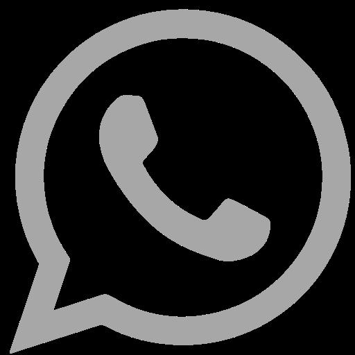 Whatsapp, Social Network Icon Free Of Social Grey Icons
