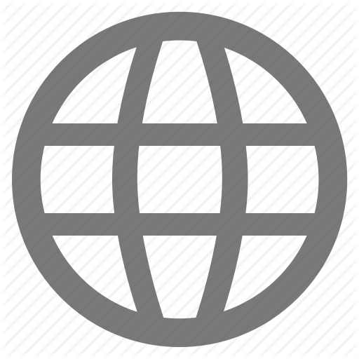 Connected, Earth, Gray, Grey, Internet, World, Worldwide Icon