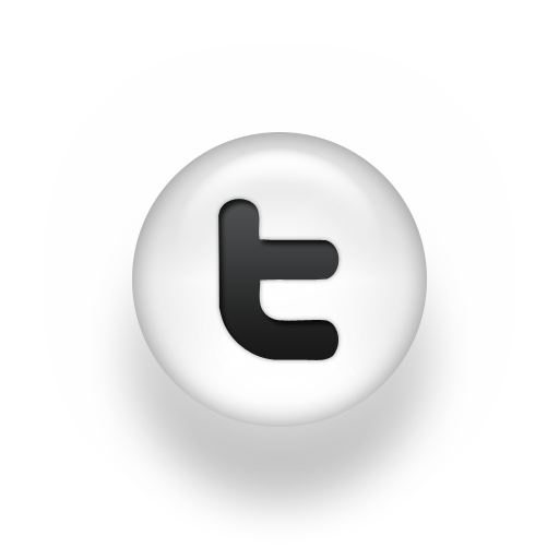 Grey Twitter Icon
