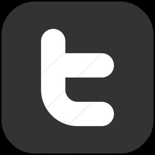 Twitter Logo Grey Png Logo Image