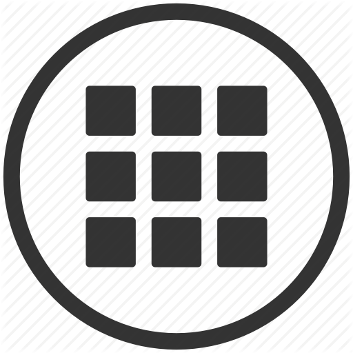 Apps, Grid, Interface, Menu, Tile Icon