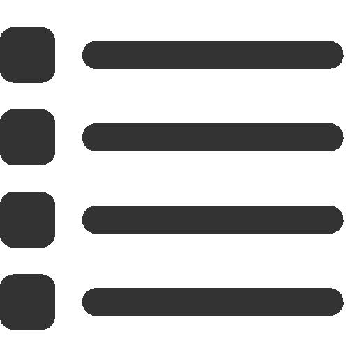 Timeline List Grid List Icon Pixel
