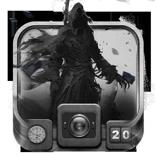 Grim Reaper Theme Cool Skull Theme Apk
