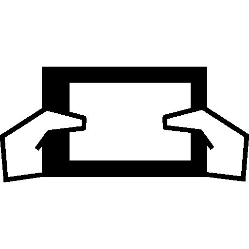 Ipad Grip Between Hands Icons Free Download