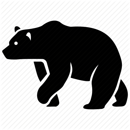Animal, Bear, Brown, Grizzly, Polar, Wild, Zoo Icon