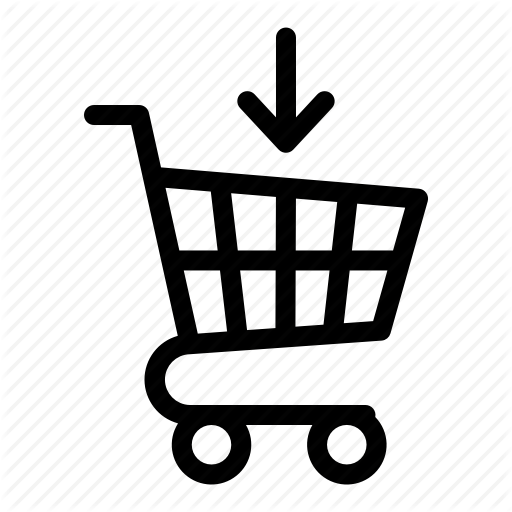 Commerce, Download, Grocery, Save, Shopping, Shopping Cart Icon