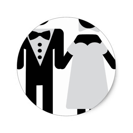Bride And Groom Icon Images