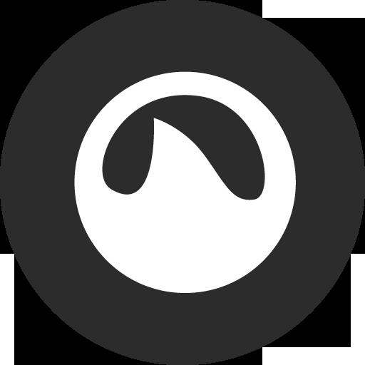 Grooveshark Icon Basic Round Social Iconset S Icons