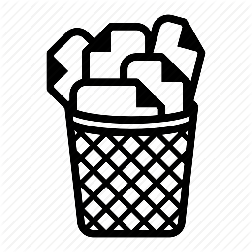 Trashcan Drawing Black And White Transparent Png Clipart Free