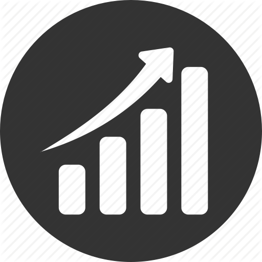 Chart, Circle, Graph, Revenue Growth Icon